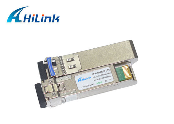 10 km SFP + moduł nadawczy SMF Fibre Small Form Factor Pluggable Plus