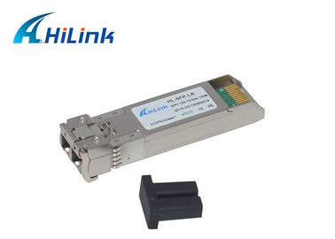 1310nm 10 km LR Cisco Kompatybilny moduł Transceiver SFP +, 10Gigabit Ethernet SFP +